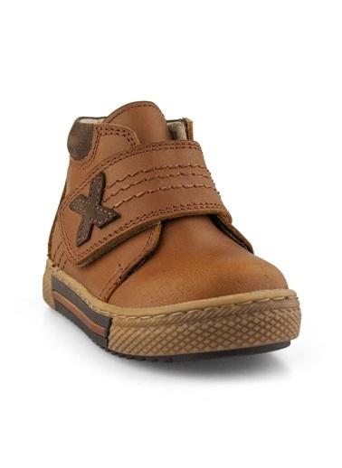 Cici Bebe Ayakkabı Deri Nubuk Erkek Çocuk Bot Taba